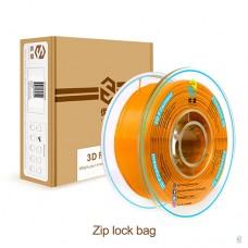 PLA-пластик для 3D-принтера. Цвет Оранжевый. 1 кг. диаметр 1,75 мм.